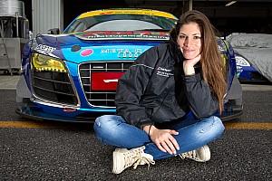 Super GT Motorsport.com news Motorsport.com media partner with Cyndie Allemann in Super GT