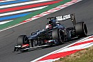 A happy Friday practice in South Korea for Sauber