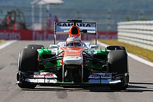 Formula 1 Qualifying report 7th and 8th row start for Sutil and Di Resta tomorrow in Korean GP