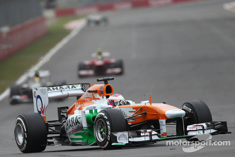 Di Resta admits Force India future uncertain