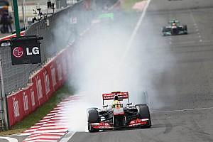 Formula 1 Commentary Pirelli explosion 'unacceptable' - Perez