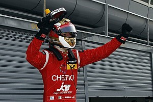 F3 Europe Race report Marciello wins race 1 but Rosenqvist stars at Vallelunga
