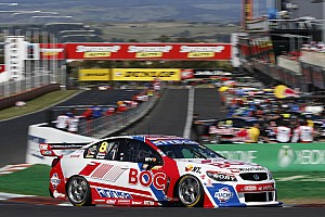 Supercars Race report Heroic defence by Bright at Mount Panorama