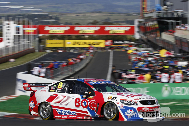 Heroic defence by Bright at Mount Panorama