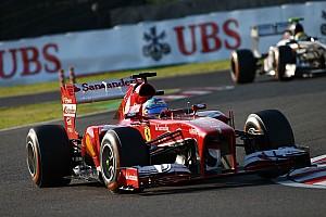 Formula 1 Special feature Ferrari still braced for Mercedes, Lotus battle