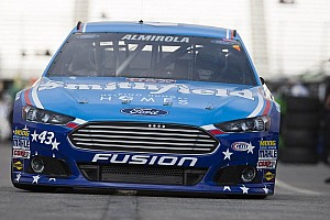 NASCAR Cup Breaking news Rain cancels Cup qualifying at Talladega; pole goes to Almirola