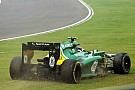 Both Caterham drivers failed to finish Indian GP