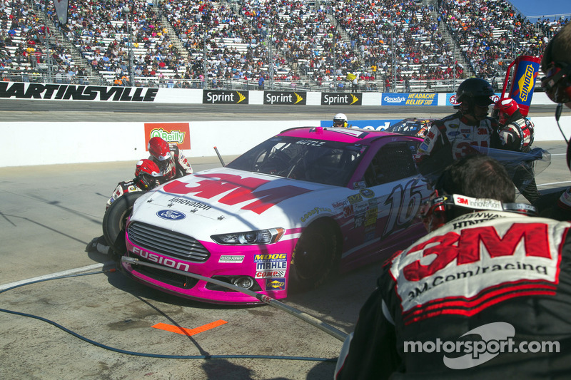 Chase contenders have words following Martinsville