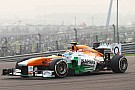 Sahara Force India gets ready for Abu Dhabi GP