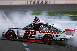 NASCAR XFINITY Race report Keselowski surprises with late charge for Texas victory