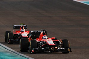 Formula 1 Breaking news Record-breaker Chilton 'likely' to stay at Marussia