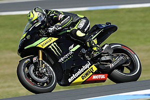MotoGP Practice report Crutchlow makes fast start ahead of final round in Valencia