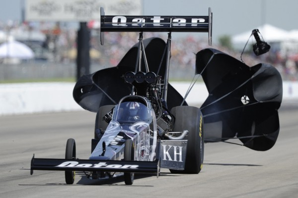 Shawn Langdon earns first NHRA Top Fuel world championship