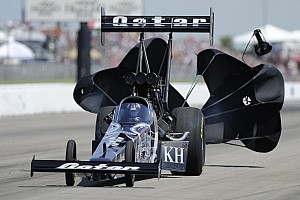 NHRA Qualifying report Shawn Langdon earns first NHRA Top Fuel world championship