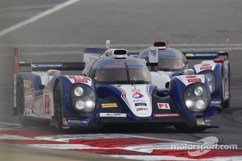 Toyota take second consecutive pole position at Bahrain