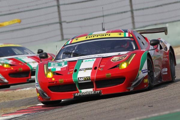 Ferrari celebrate in Bahrain two World Endurance Cup victories