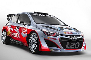 WRC Breaking news Hyundai launches new car and driver lineup for 2014