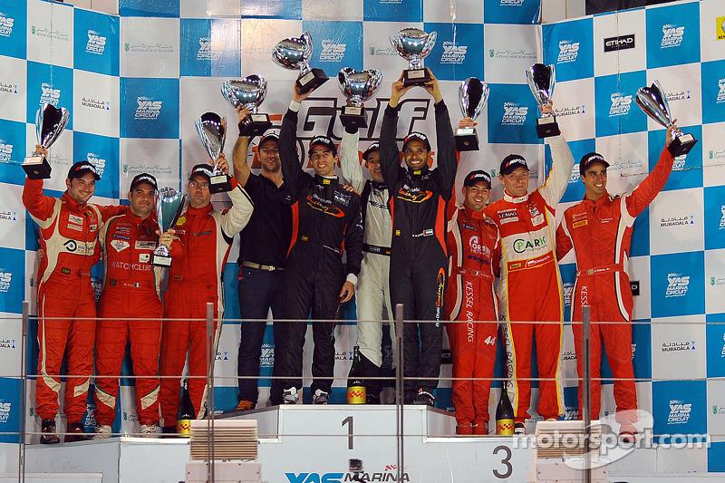 Gulf 12 Hours win crowns a dream season for Team Abu Dhabi by Black Falcon