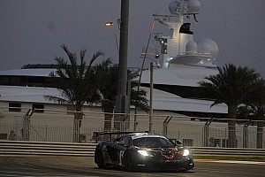 Endurance Race report Challenging test for Kuwait's Khaled Al Mudhaf in Gulf 12hr with McLaren 12C GT3