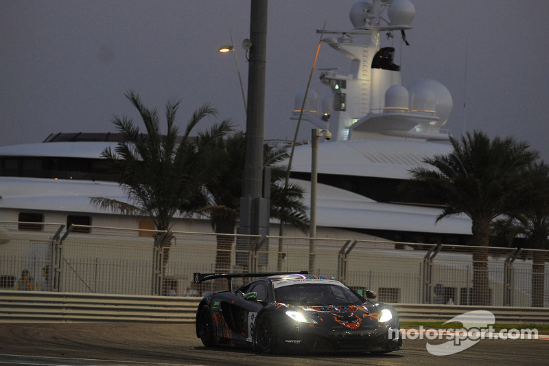 Challenging test for Kuwait's Khaled Al Mudhaf in Gulf 12hr with McLaren 12C GT3