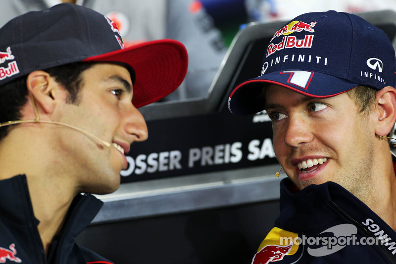 Ricciardo thinks Vettel yet to peak
