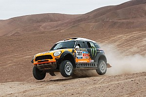 Dakar Stage report A MINI one-two on stage 11