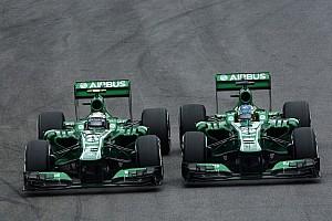 Formula 1 Breaking news Caterham set for Kobayashi-Ericsson in 2014 - report