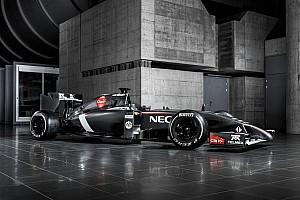 Formula 1 Breaking news Sauber reveals its 2014 challenger - the C33