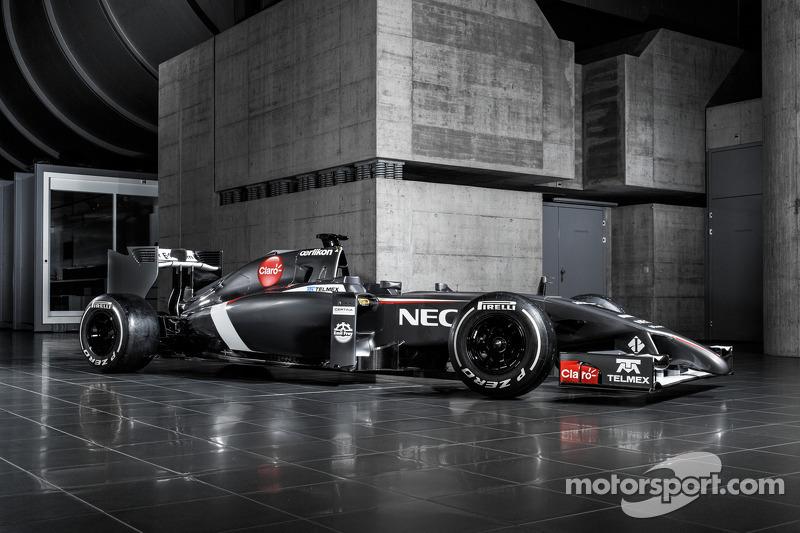 Sauber reveals its 2014 challenger - the C33