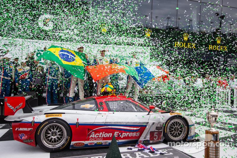 Corvette Daytona Prototypes sweep top 4 spots in Daytona