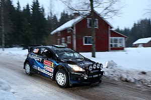WRC Stage report M-Sport make a strong start in Sweden
