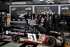 NASCAR Truck Race report Eighth straight NCWTS win for a Tundra driver at Daytona