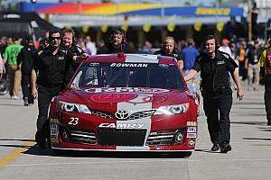 NASCAR Cup Race report BK Racing has roller coaster weekend at Daytona International Speedway