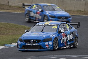 Supercars Qualifying report Volvo joins the party at Adelaide blockbuster