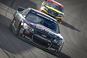 NASCAR Cup Race report Dale Earnhardt Jr. is half lap short of win at Vegas