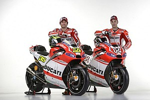 MotoGP Breaking news Ducati Desmosedici GP14 new livery unveiled