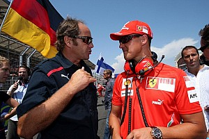 Formula 1 Breaking news Berger thought of Schumacher after own ski fall