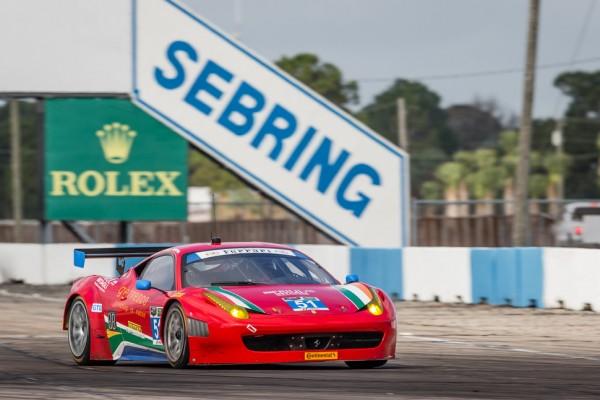 Griffin upbeat for Sebring 12 hour