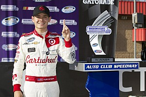 NASCAR Cup Commentary Kyle Larson didn't arrive at Fontana; he was already there