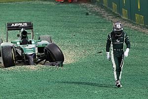 Formula 1 Breaking news Kobayashi worried about 'submarining' noses