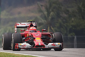 Formula 1 Practice report High hope for Scuderia Ferrari drivers at Sepang after Friday's practice
