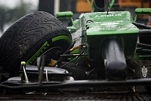 Formula 1 Qualifying report Both Caterham drivers left in Q1 at Malaysia
