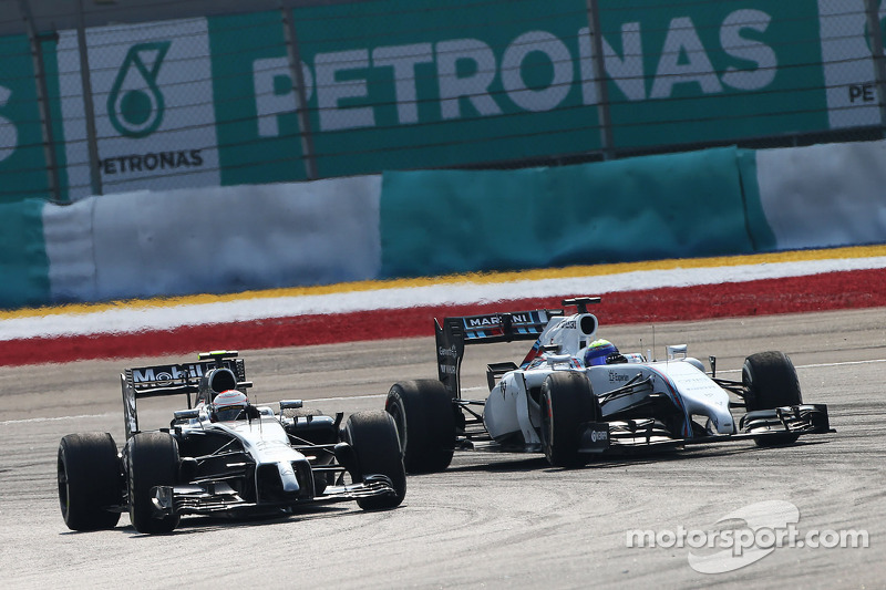Massa and Bottas both brought points for Williams Martini