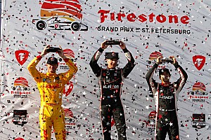 IndyCar Race report Power surges into history books with St. Pete win