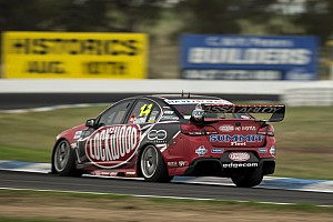 Supercars Race report Fabian Coulthard's podium chances ruined by penalty at Winton 400