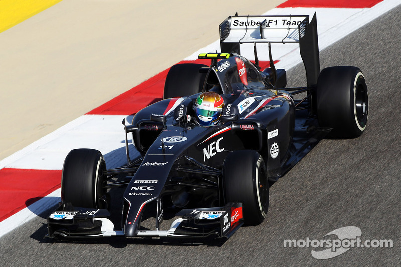 Sauber will be on track at the Shanghai with minor updates