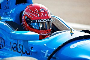 IndyCar Practice report Pagenaud leads way in Long Beach