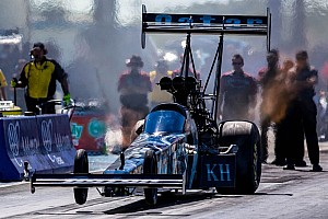 NHRA Qualifying report Langdon, Capps, Mcgaha and Ray on top following first day of qualifying at the Four-Wide Nationals