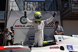 Auto GP Race report Marrakech, race-1: Kimiya Sato (Euronova) takes win in a crazy race