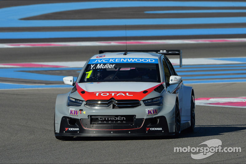 Race 1 - Muller earns first win with Citroën